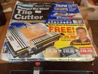 PLAS PLUGS professional tile cutter with aluminum tops and extension table