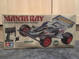 Manta Ray radio control car
