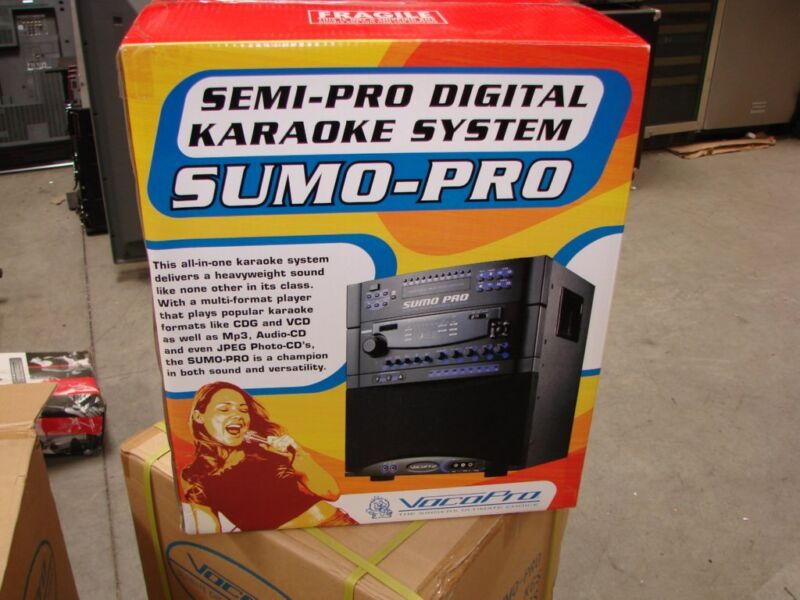 VocoPro SUMO PRO SEMI PRO Digitial Karaoke System