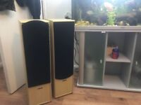 Free standing acoustic solutions speakers