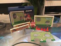 Playmobil football set with box