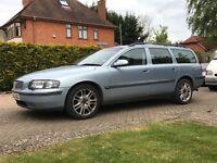 Volvo V70 2.4 petrol automatic, very clean nice car 2002 full mot 140,000 miles