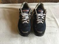 New balance USA men's trainers black size 8.5 used £4