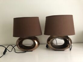 Lamps - Pair of matching lamps