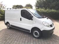 2008 Renault Trafic 2.0 TD dCi SL27 SWB Van, 129k MILES, NEW MOT, AIR CON, NO VAT (Vauxhall Vivaro)