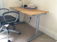 IKEA Galant height-adjustable desk
