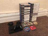 Sony PS2 Slim with 60 Games and Eye Toy Camera