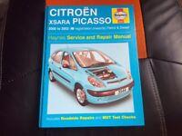 haynes citroen xsara picasso 2000-02 petrol and diesel
