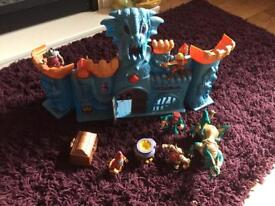 Castle and Dragon toy