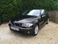 Bmw 118 I sport manual 5 dr with electric sunroof and only 2796 miles