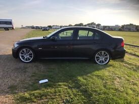 BMW 330I M SPORT BLACK FSH SERVICED GREAT CONDITION TOP SPEC