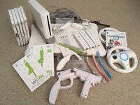 Nintendo Wii with Wii Fit package