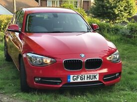 BMW 1 Series 1.6i Sport, Petrol, new shape, 5 door hatchback, immaculate condition throughout