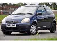 2004 Toyota Yaris 1.0 VVT-i T3 3dr+HATCHBACK+LONG MOT+CHEAP TO RUN+READY TO DRIVE AWAY TODAY