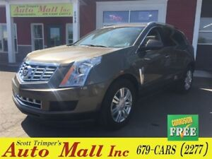 2014 Cadillac SRX Luxury/Leather/Sunroof/Nav