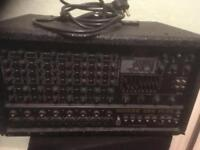 Peavey crud powered mixer