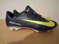 Mercurial Vapor Xi Fg Soccer Football Shoes Boots Volt size 9 UK