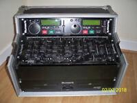 cd deck & mixer