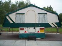 Much loved folding Camper for sale due to house move!