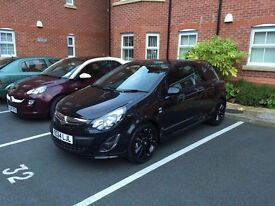 Great Condition Black 1.2 Vauxhall Corsa Limited Edition - 1 owner, FSH - £5,495