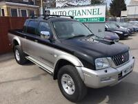 Mitsubishi L200 2.5 TD 4Life Double Cab 4dr£3,495 p/x welcome LONG MOT, GOOD RUNNER