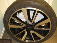 Quashqui wheel and tyre
