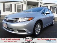 2012 Honda Civic EX  $102.27 BI WEEKLY!!!