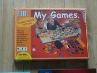 children's games compendium - backgammon -charades game - cranium palates - DVD