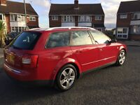 Audi A4 tdi sports estate 12 months mot!