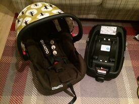 Cosatto car seat in TREAT