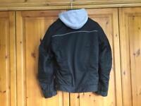Bull it black denim motorcycle jacket XL