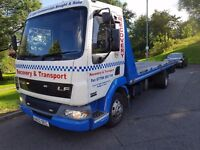 Daf lf 45 7.5 tonn tilt and slide with spec recovery truck