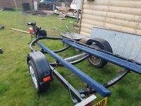 Jet loader jet ski trailer.