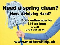 Cleaner / Cleaning / Domestic cleaning / Gardener / house cleaning JOBS / Full / Partime