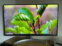 """LG 31.5"""" 4K HDR Gaming Monitor For Sale"""
