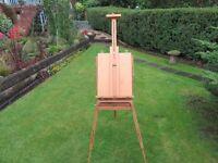 artists easel paints books