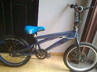"silverfox bmx bike full disc brakes 20"" wheels"