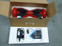 WIZBOARD EGO HOVERBOARD TWO WHEEL IN RED C16