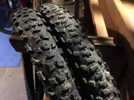 "2x specialized 26"" mtb tyres"