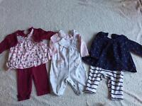 0-3 months baby girl bundle (Next, M&S,F&F, Asda, Babies r Us)