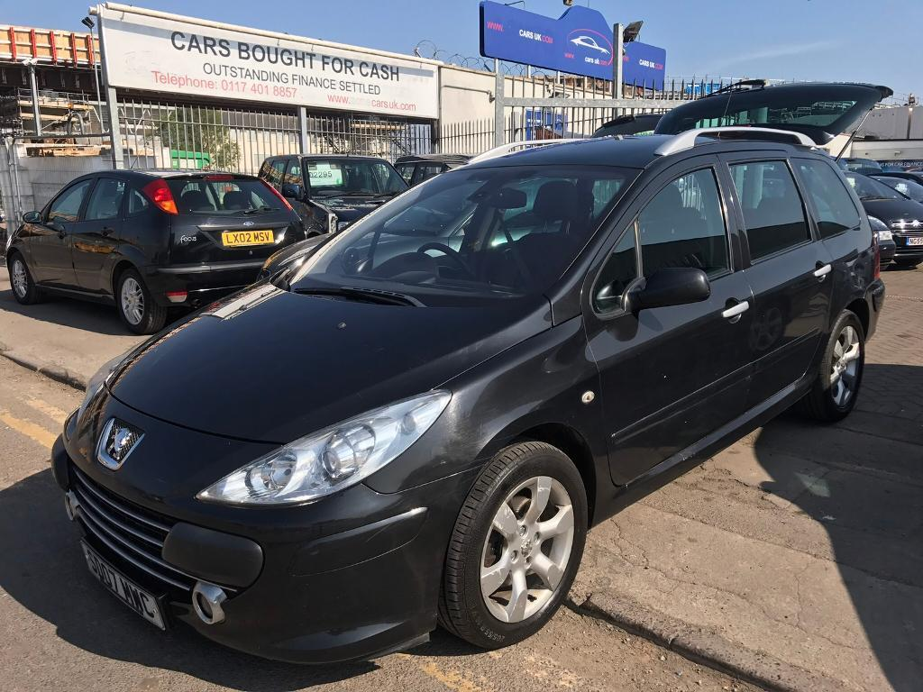 2007 PEUGEOT 307 SW ESTATE 7 SEATER !!! VERY RARE CAR WITH SEVEN ...