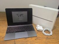 "Apple MacBook 12"" Space Grey Boxed Immaculate 512GB SSD 8GB RAM MJY42B/A"