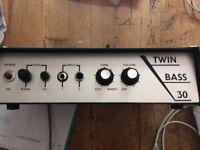1966 Selmer Twin Bass 30