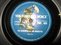 KEN MACKINTOSH ORCHESTRA - 78rpm - HMV - POP.426 - MOJO / RAUNCHY