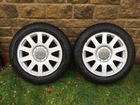 "Audi VW A4 T4 16"" Alloy Wheels Transporter Camper Alloys"