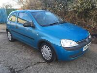 Vauxhall Corsa C in blue breaking complete car all parts spares available