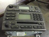 Jaguar x type radio / CD player / air con / heater control unit