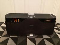 Gear 4 Houseparty Rise Speaker with Alarm Clock.