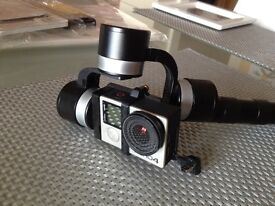 GoPro Hero4 Black Edition with Gimball 3 Axes