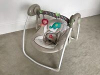 Baby Swing Excellent Condition! Rrp £79.99